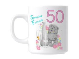 50th Birthday Special Friend Gift Mug