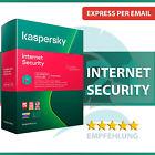 Kaspersky Internet Security 2022 - alle Versionen - 1 oder 2 Jahre - Download <br/> PASSWARD - Code sofort per E-Mail