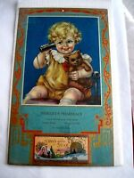 "Darling Vintage Advertising Calender ""Always Busy"" by Charlotte Becker *"
