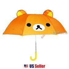 San-X Rilakkuma Umbrella with Ears for Kids