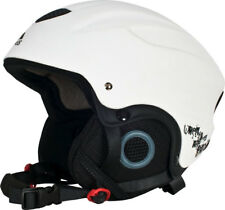 Trespass Skyhigh Adults Mens Womens Snow Skiing Helmet White - Large 58-62cm
