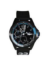 Lacoste Men's Capbreton Quartz Watch Silicone Strap, Blue Model: 2010896