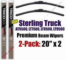 Wipers 2pk Premium fit 99-08 Sterling Truck AT9500 LT7500 LT8500 LT9500 19200x2