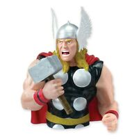 Hucha Thor Avengers Grande Figura Busto Texto Original En Nuevo Oficial Marvel