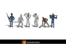 Woodland Scenics A1858 Chain Gang Figures HO Gauge
