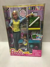 Barbie Teacher Playset Doll Careers And Nikki I Can New Girls Set School Mattel