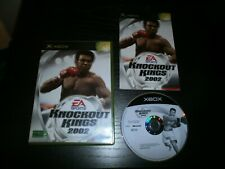 jeu XBOX PAL version Française: KNOCKOUT KINGS 2002 - Complet
