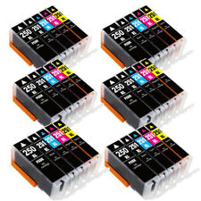 30 PK Canon PGI-250XL CLI-251XL Compatible Ink For Canon Pixma MX722 MX922