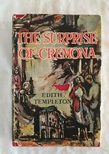 The Surprise of Cremona by Edith Templeton | HC/DJ 1955 (Travel Italy)