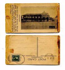 Vintage Postcard HOTEL PHARR Pharr TX HELL IN TEXAS poem 2 part