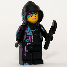 The LEGO Movie: Wyldstyle with hood minifigure - 70801 (NEW) - TLM049