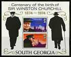 South Georgia 1974 Scott #40a Mint Never Hinged Souvenir Sheet