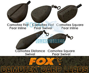 All Sizes Available Brand New Fox Camotex Impact Inline Leads