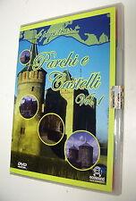 4 passi in PARCHI e CASTELLI vol. 1  DVD Conoscere le Città del Mondo