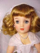 """Vintage 1950s 20"""" MISS REVLON DOLL - VT-20 Complete Bridal Costume w/Access"""