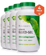 Youngevity Plan1x Ultimate Gluco Gel 240 capsules 4x Dr Wallach Free Shipping