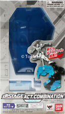 Tamashii Stage Act Combination Clear Blue Stand Bandai USA Seller FREE Shipping