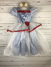 Wizard of Oz Dorothy Costume Halloween Girls Size Small Size 4 New with Tag