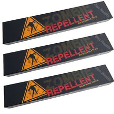 3 X Halloween Zombie Repellent Incense Sticks Scary Horror- Insence/insense