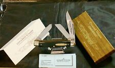 Schrade CW-1 Covered Wagon Knife Set Circa-1970's W/Packaging & Paperwork