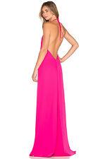 NWOT Jill Jill Stuart Halter Gown Peony or Pink  $328  Size 6