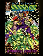 YOUNGBLOOD 2 (9.4) 1ST PROPHET & SHADOWHAWK ROB LIEFELD IMAGE (b048)