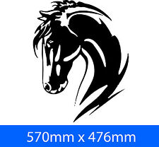2 x LARGE HORSE  DECAL UTE 4WD HORSE FLOAT TRUCK
