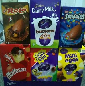 New Easter Egg Bundle 6 Medium Sized Eggs see description fast delivery