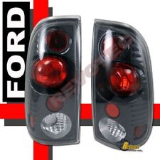 1997-2003 Ford F150 F250 F350 Styleside Carbon Tail Lights 1 Pair