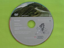 AUDI DVD NAVIGATION PLUS SOFTWARE RNS-E DEUTSCHLAND + EUROPA 2011 A3 A4 A6 TT R8