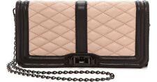 Rebecca Minkoff Love Clutch Shoulder Bag Black/Latte