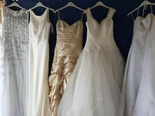 x 5 BRIDES WEDDING FULL LENGTH DRESSES .PARTY PROM FANCY DRESS SHOP SAMPLE  #2