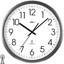 Atlanta 4377/4 Horloge murale Radio-pilotée Analogue anthracite Rond