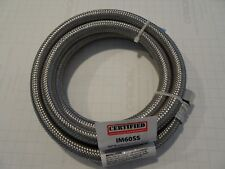 "Box of 10 1/4"" Fcm 60"" Inch 5 ft Connection Hose Im60Ss Braided Stainless Steel"