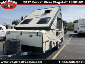 2017 Forest River Flagstaff Hard Side T19QBHW Used