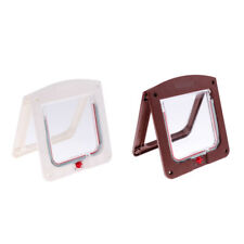 Pet Door Kit for Cats and Small Dogs with Telescopic Frame for Dogs and Cats