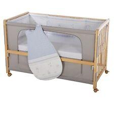 Roba Room Bed Kinderbett Beistellbett Glücksengel blau 60x120 cm Holz natur NEU