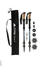 TYTN Trekking poles lightweight Carbon X - Quicklock, for Hiking Nordic Waliking