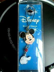 Disney Mobile Charm. Micky Mouse.  NEW & Sealed in Plastic Box