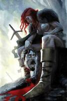 Red Sonja #13 Incentive Incentive Bob Q Virgin Variant Cover