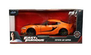 Fast & Furious 2020 Toyota GR Supra 1:32 Diecast Model Car By Jada