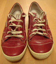 Ladies Josef Seibel Caspian Glossy Red Shoes Size uk 4 RRP £65