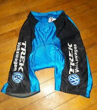 VINTAGE TREK  VW Padded Cycling Shorts Men's LG Volkswagen  UNION MADE IN USA