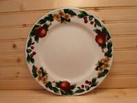 The Cades Cove Collection by Citation Dinner Plate Apples Blossoms On Rim L185