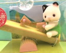 Sylvanian families doll house Japan Genuine baby Cat and a Seesaw