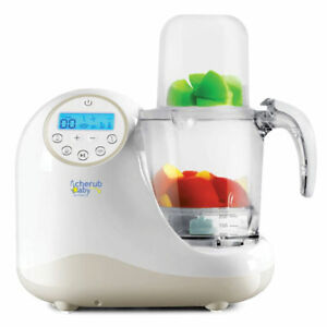 Cherub Baby Steamer Blender Baby Food Maker & Processor Online Only