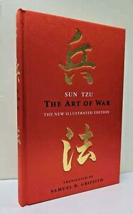 THE ART OF WAR: ILLUSTRATED EDITION by Sun Tzu ~Deluxe Cloth Hardcover GIFT BOOK