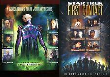 Gambia 2010 Star Trek Kino Raumfahrt Science Fiction Space Postfrisch MNH