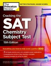 College Test Preparation: Cracking the SAT Chemistry Subject Test by Princeton …