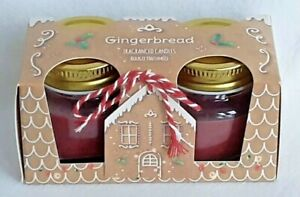 Christmas - Gingerbread - Fragranced Candles - Gift Set - Brand New